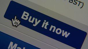 Ebay buy it now button