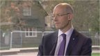 John Swinney on Reporting Scotland
