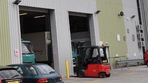Co-op warehouse