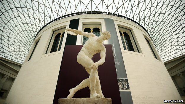 Artefacts In The British Museum's Winning At The Ancient Games Exhibition