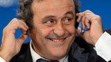 Michel Platini Uefa president