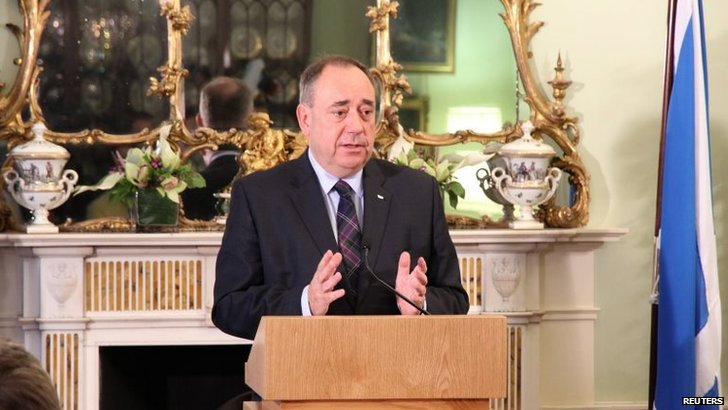 Alex Salmond to quit as Scottish First Minister