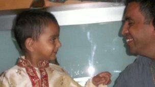 Jai and his father Paresh