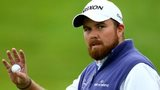 Shane Lowry acknowledges the crowd at the Wales Open