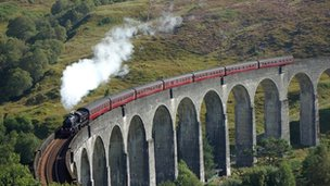 Donald Mackinnon from the Isle of Lewis shot an image of the famous Glenfinnan Viaduct while on a recent holiday.
