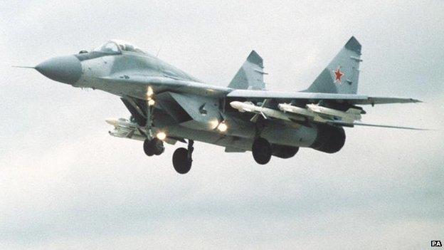 美加空军在阿拉斯加拦截6架俄战机