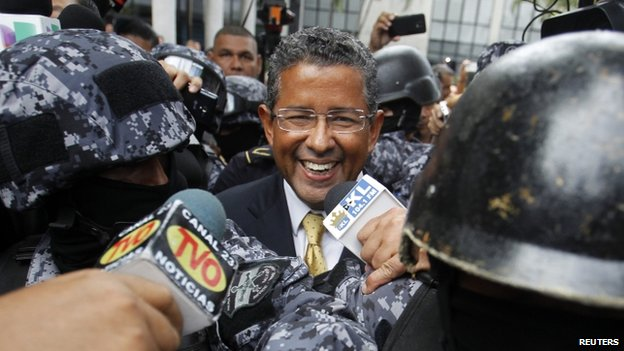 CANCEL ARISTIDE'S HOUSE ARREST!! Former El Salvador leader Francisco Flores in police custody-Added COMMENTARY By Haitian-Truth
