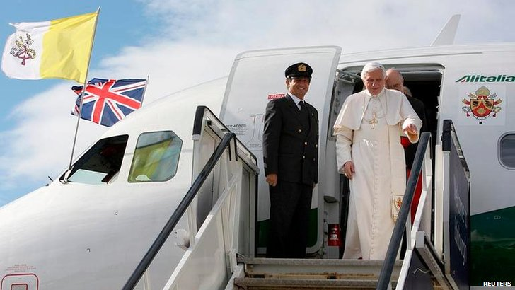 Pope in Scotland visit