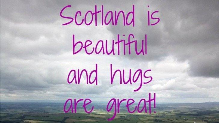Facebook hug pic
