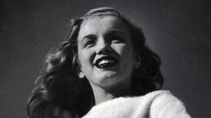 Rare negative of Marilyn Monroe during her first professional photoshoot