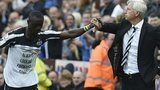 Pappis Cisse and Alan Pardew