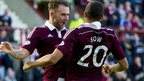 Hearts were comfortable winners at Tynecastle
