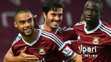 Winston Reid celebrates for West Ham