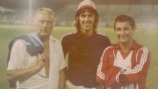 Adrian Taylor and Brian Clough