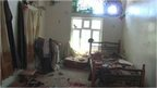 Bombed out room in Yemen