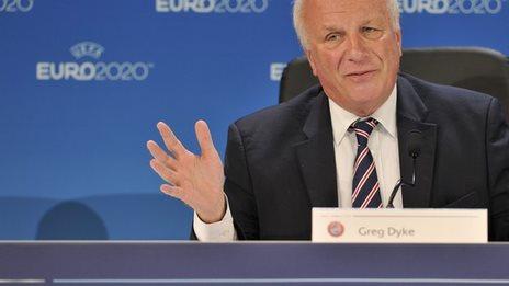 Football Association chairman Greg Dyke