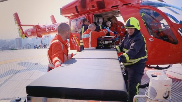 London Air Ambulance team