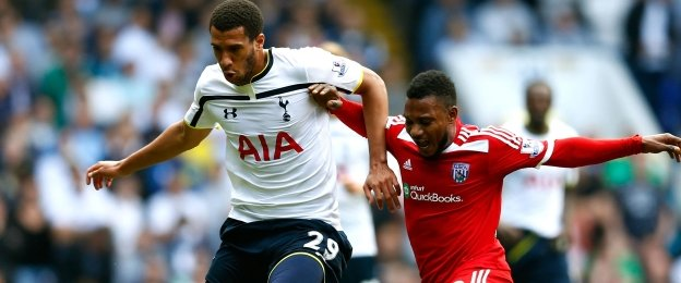 Etienne Capoue (left) and Stephane Sessegnon