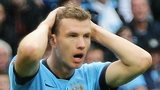 Manchester City's Edin Dzeko