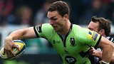 Lions winger George North scored one of Northampton's four tries in their bonus point win at Newcastle