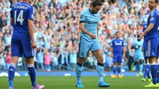Manchester City's Frank Lampard refuses to celebrate his equaliser against Chelsea