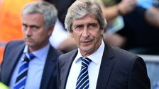 Jose Mourinho (left) and Manuel Pellegrini