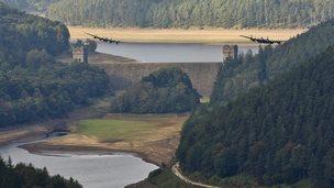 Lancasters flying over Peak District on 21 September 2014