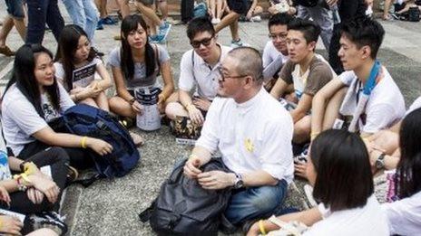 Thousands of HK students at boycott