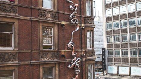 Gerrard Place sculpture