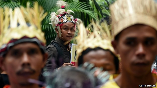 People from Malaysia's indigenous population