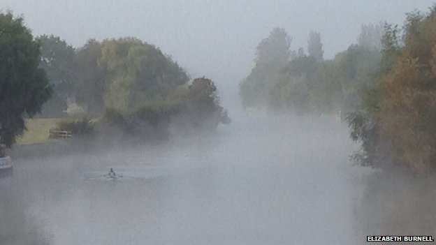 Mist on the Thames