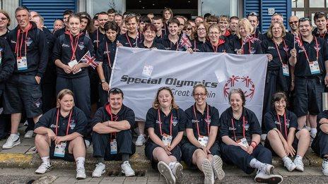 The GB team in Antwerp