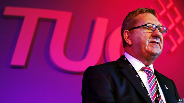 Len McCluskey, general secretary of Unite