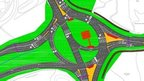 Black Dam roundabout plans