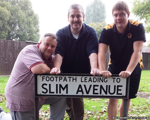 Councillors Stephen Simkins, Paul Sweet and Daniel Warren prepare for their weight loss challenge