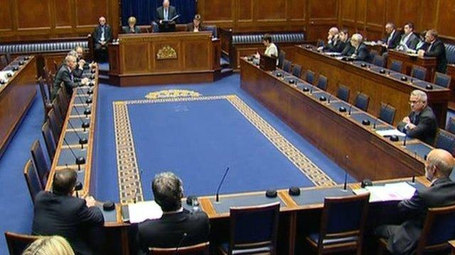 Northern Ireland Assembly chamber