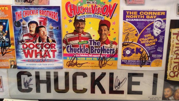 Chuckle Brothers merchandise