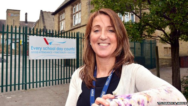 Whetley Academy head teacher Patricia Gavins