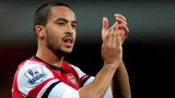Arsenal winger Theo Walcott