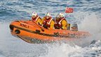 RNLI lifeboat. Photo: Adrian Don.
