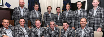 The European team for the 2014 Ryder Cup