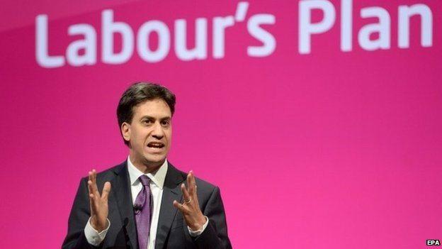 Miliband speaking