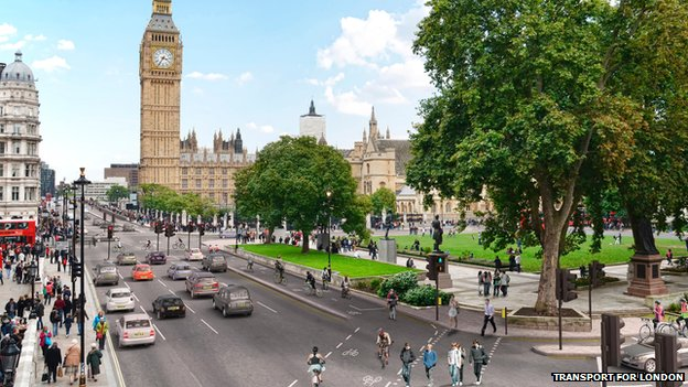 Cycle superhighway design