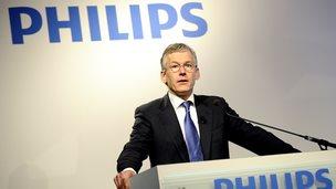 Philips chief executive Frans van Houten