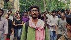 Jadavpur University students