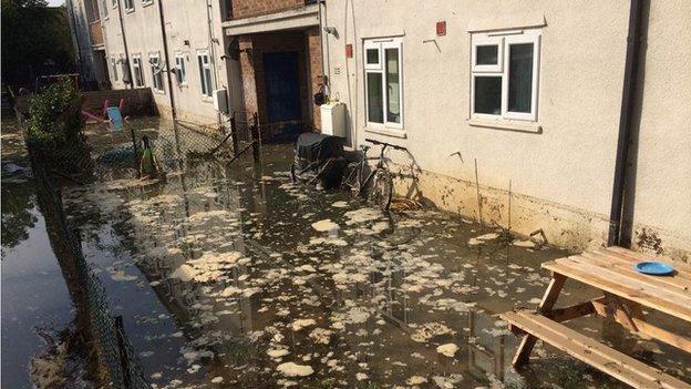 Normandy Crescent flooding