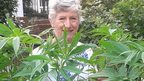 Patricia with plant