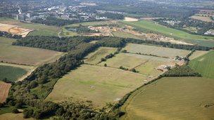 BT Adastral Park and solar farm