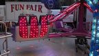 Twister fairground ride