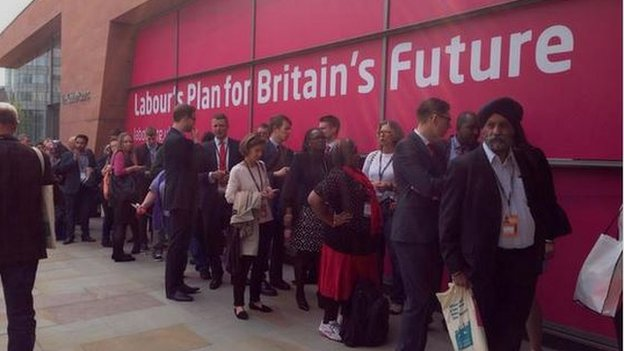 Labour conference in Manchester